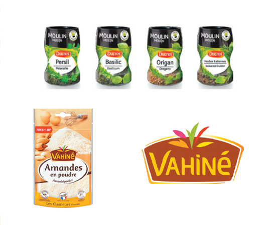 Ducros & Vahine products
